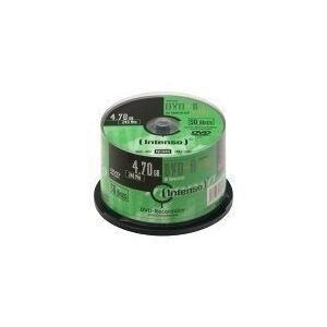 INTENSO 50 x DVD-R (A) - 4.7 GB (120 min.) 16x - spindel