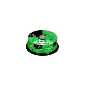 INTENSO 25 x DVD-R - 4.7 GB 16x - spindel
