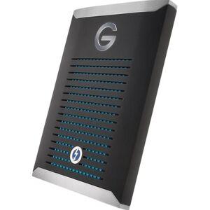G-TECHNOLOGY G-DRIVE Mobile Pro GDMOPTB3WB10001DBB - Vaste schijf - 1 TB - extern (draagbaar) - Thunderbolt 3 - zwart