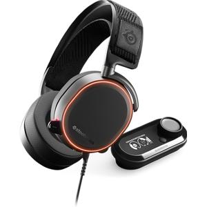 STEELSERIES Arctis Pro + GameDAC - Koptelefoon - over oor - met bekabeling - zwart - RGB
