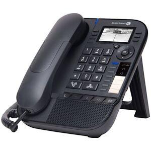 - Alcatel-Lucent 8018 DeskPhone - VoIP-telefoon - 3-weg geschikt voor oproepen - SIP - zwart