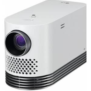 LG Andante HF80JS - DLP-projector - 2000 lumens - 1920 x 1080 - 16:9 - HD 1080p - 802.11a/b/g/n wireless / LAN / Miracast Wi-Fi Display