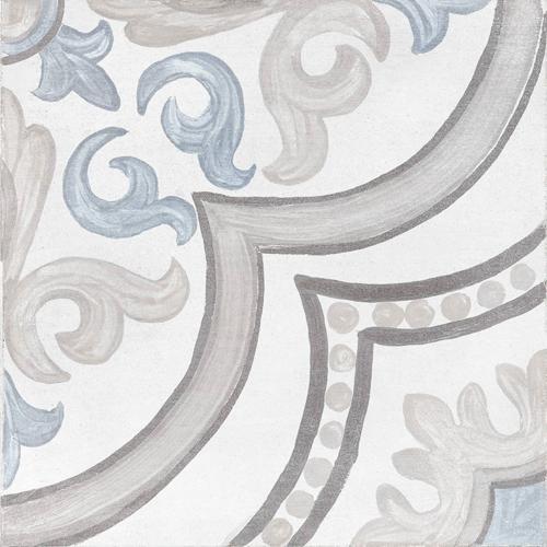 Adobe Decor Daiza White 20x20