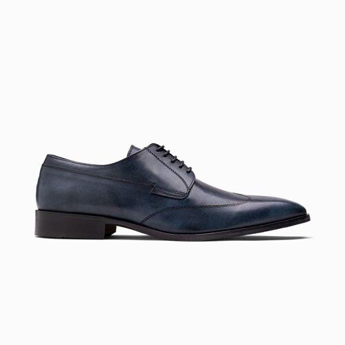 Paulo Bellini Dress Shoe Elba Leather Blue