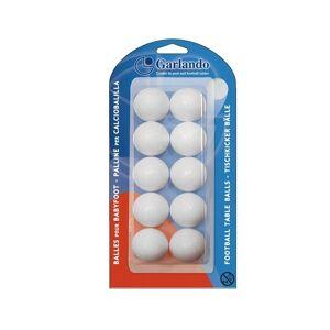 Garlando Tafelvoetballetjes Wit (10X)