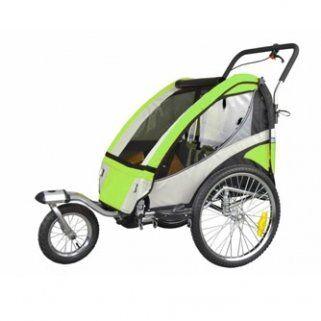 Enduring Faster Kinderfietskar voor 2 kinderen met vering