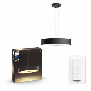 Philips Hue Fair hanglamp - White Ambiance - zwart (incl. DIM switch)