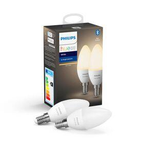 Philips Hue losse lampen - White - E14 (2-pack)