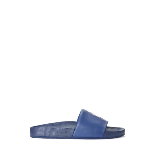 Polo Ralph Lauren Cayson Pony Slide  - Federal Blue/ Sea Foam Pp - Size: EU 46