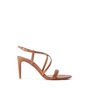 Ralph Lauren Collection Arissa Calfskin Sandal  - RL Gold - Size: 37