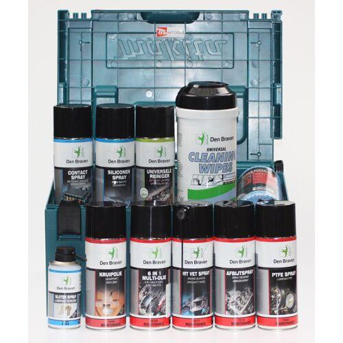 mtools Actiepakket smeermiddelen, reinigingsmiddelen in Mbox   Mtools