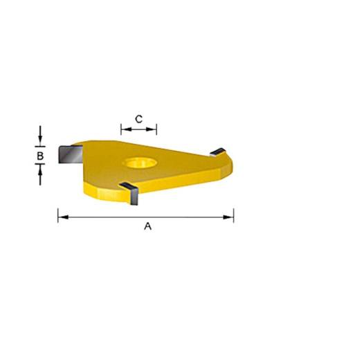 Makita D-12077 Groefmes HM 5,0mm