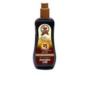 Australian Gold SUNSCREEN SPF15 spray gel with instant bronzer  237 ml