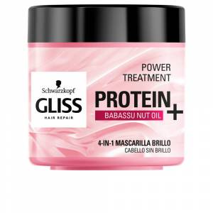 Schwarzkopf GLISS PROTEIN+ mask cabello sin brillo  400 ml