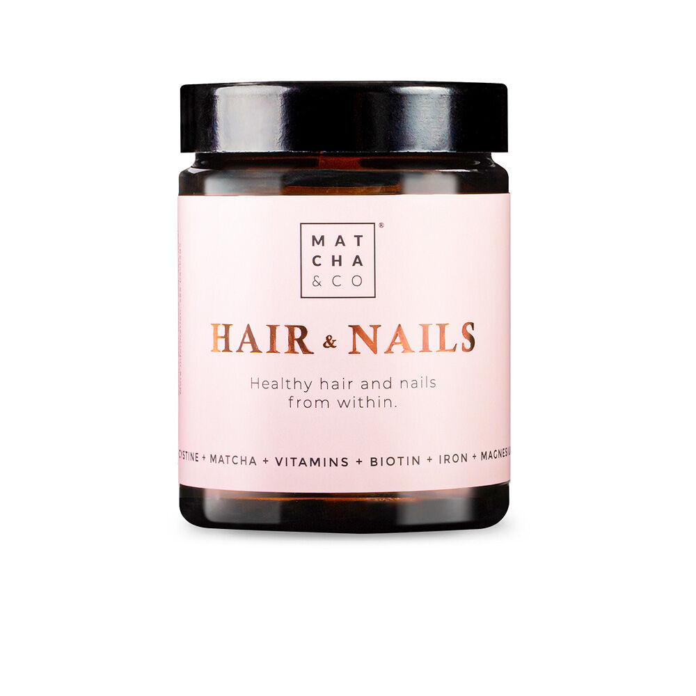 Matcha & Co HAIR & NAILS 60 vegan capsules
