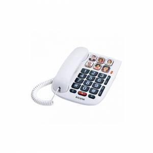 Alcatel Landline for the Elderly Alcatel TMAX 10 LED White