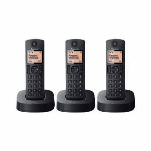 Panasonic KX-TGC313EB Digital Cordless Telephone - Nuisance Call Block - Triple