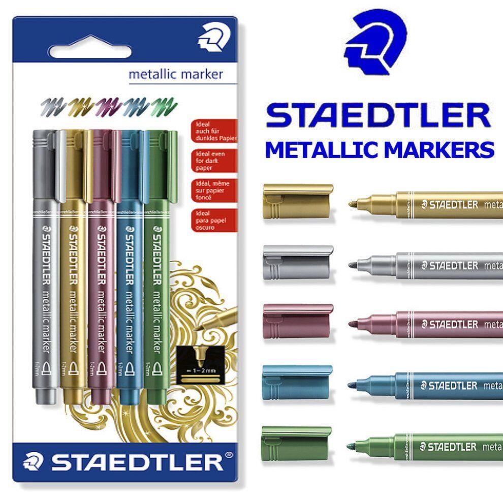Staedtler Metallic Marker Pens -...
