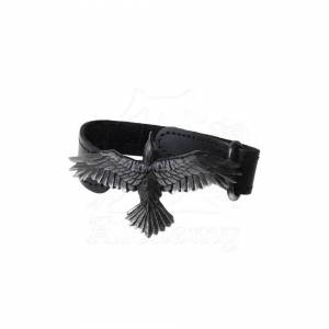 Alchemy Gothic A109 Black Consort Wriststrap
