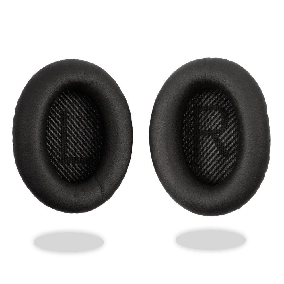 REYTID Black Ear Cushion Kit Bose QuietComfort 35 QC35 Headphones Pads Cups Replacement