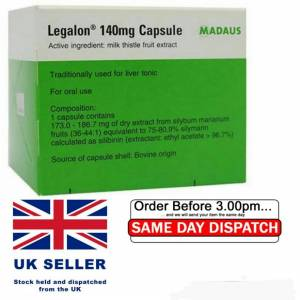 Madaus GmbH Legalon 140 mg x 20 cps .Hepatoprotector(Silybi mariani)