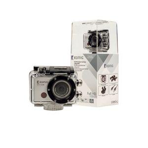 Knig Actie camera CSACW100 8 Megapixel Zwart, zilver