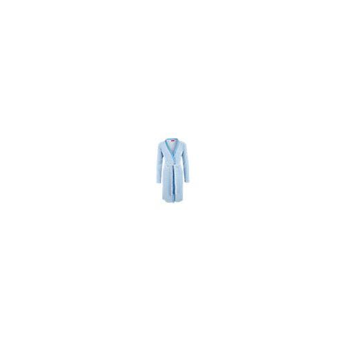 Badjas - blauw - Unisex - Dames