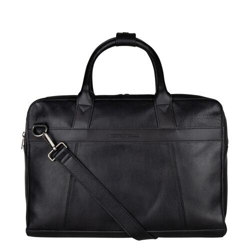 Cowboysbag - Laptoptassen - Laptop Bag Ross 15.6 inch - Black