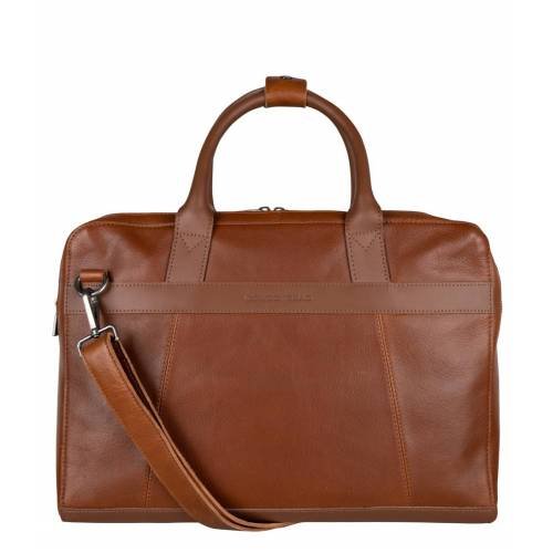 Cowboysbag - Laptoptassen - Laptop Bag Ross 15.6 inch - Tan