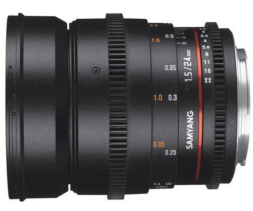 Samyang 24mm T1.5 VDSLR ED AS IF UMC II Canon M