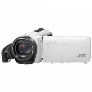 JVC GZ-R495W-KIT Quadproof Camcorder wit incl. tas en SD kaart