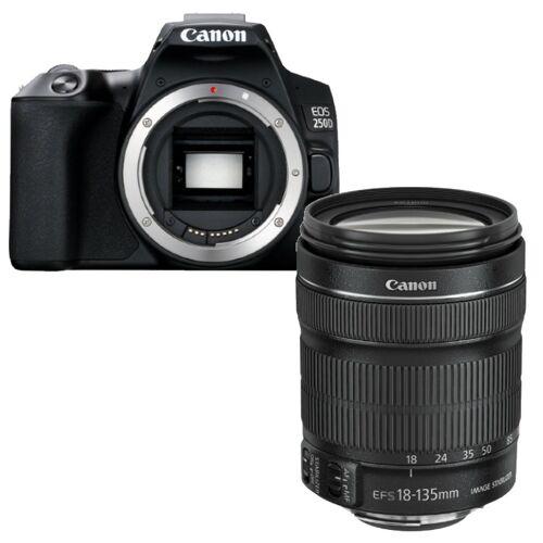 Canon EOS 250D zwart + EF-S 18-135mm F/3.5-5.6 IS STM