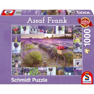 999 Games De Geur van Lavendel (Assaf Frank) - Puzzel (1000)