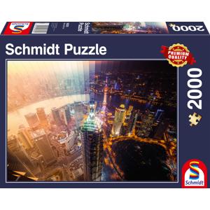 Schmidt Dag en Nacht  Tijdverloop - Puzzel (2000)