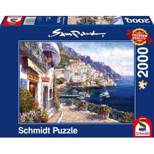 999 Games Amalfi in de middag (Sam Park) - Puzzel (2000)