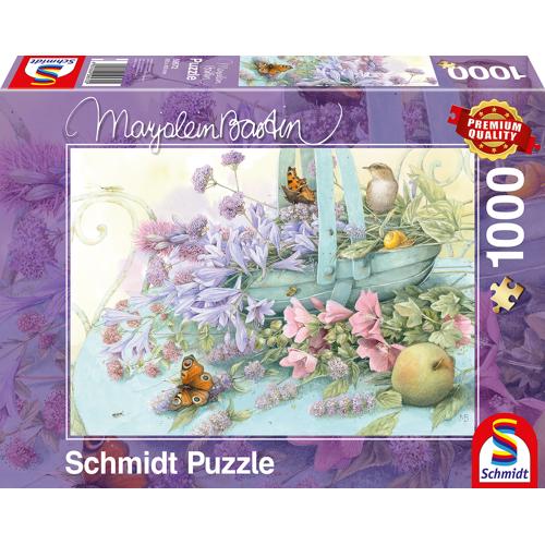 Schmidt Bloemenmand (Marjolein Bastin) - Puzzel (1000)