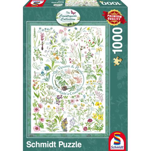 Schmidt Bloemen en Planten - Puzzel (1000)