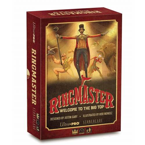 Ultra Pro Ringmaster: Welcome to the Big Top