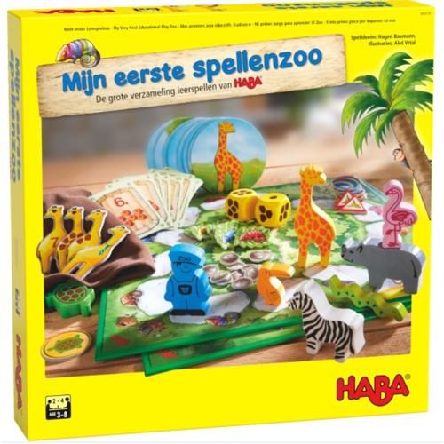 Haba Mijn eerste Spellenzoo: De grote verzameling leerspellen van HABA (3+)
