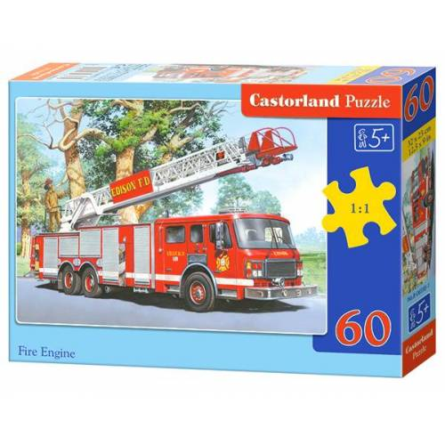 Castorland Fire Engine - Puzzel (60)
