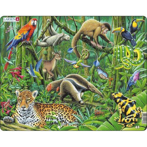 Larsen Puzzel LARSEN: Zuid-Amerikaans Regenwoud (70)