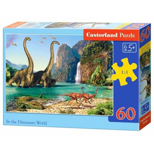 Castorland In the Dinosaur World - Puzzel (60)