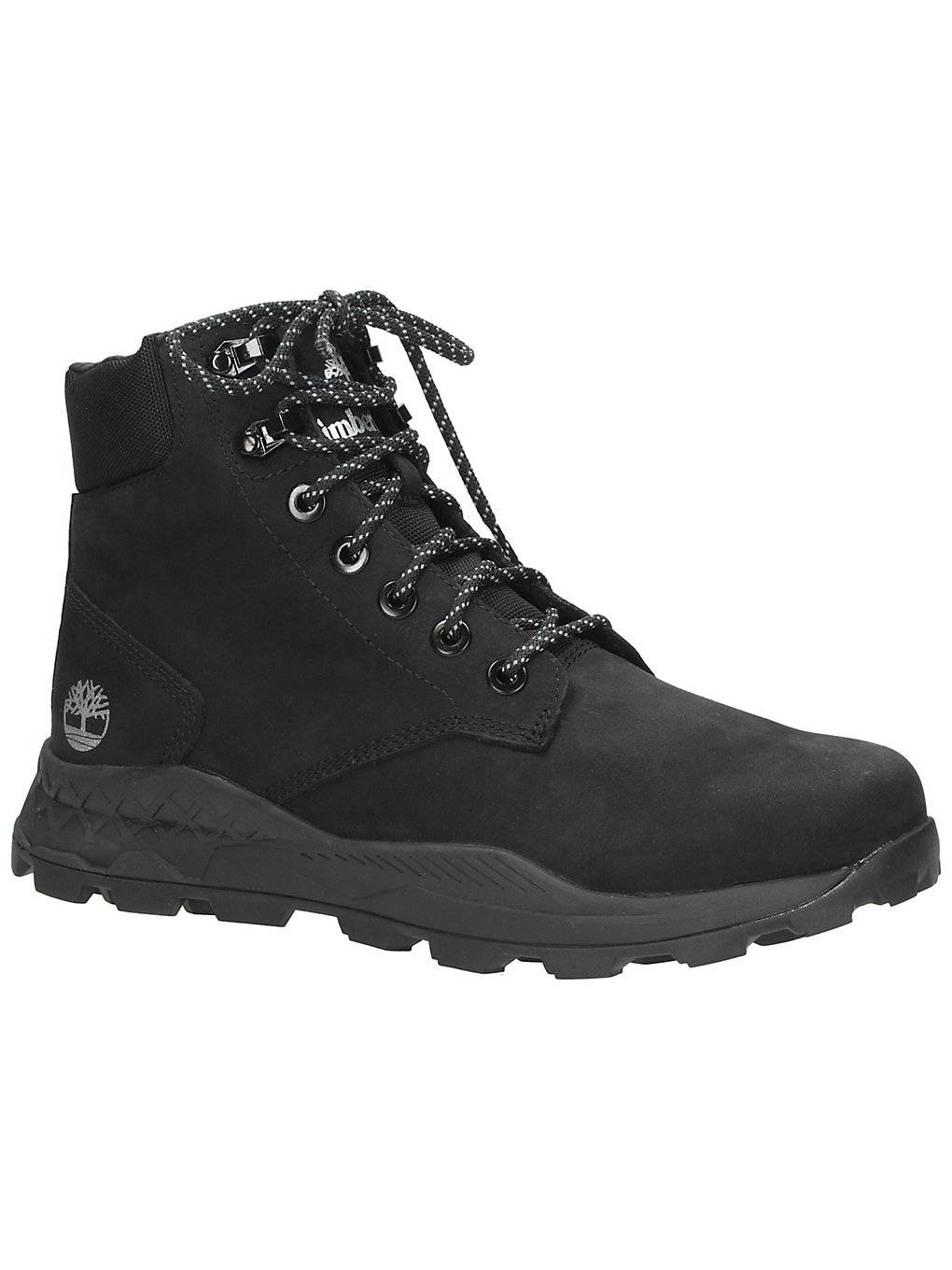 Timberland Brooklyn 6 Inch Shoes  : black nubuck - Size: 8.5 US