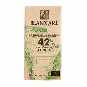 Blanxart - Congo melk 42% BIO chocolade (Organic)