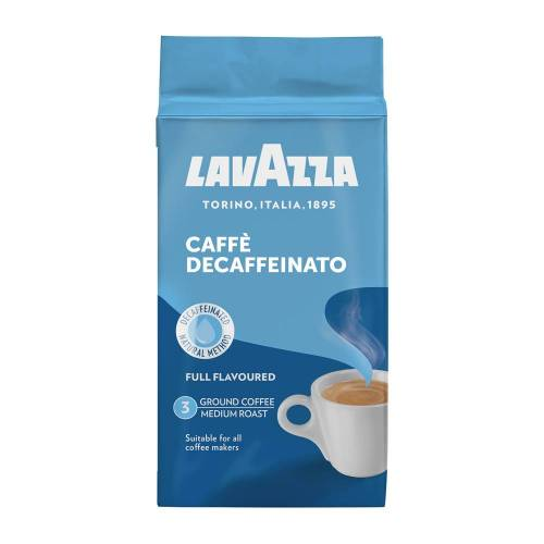 Lavazza - gemalen koffie - Dek Cafeïnevrij