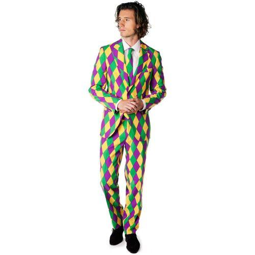 OppoSuits Harleking Kostuum  - Groen - Size: 46