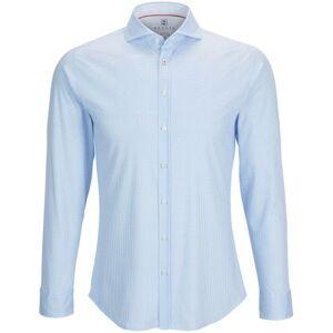 Desoto Overhemd Strijkvrij PDP Blauw  - Blauw - Size: 2X-Large