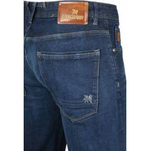 Vanguard Jeans V7 Rider Pure Blue  - Blauw - Size: Large