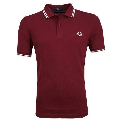 Fred Perry Poo Bordeaux Rood  - Bordeaux - Size: Large