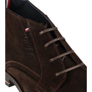 Tommy Hilfiger Schoen Donkerbruin  - Grijs - Size: 45